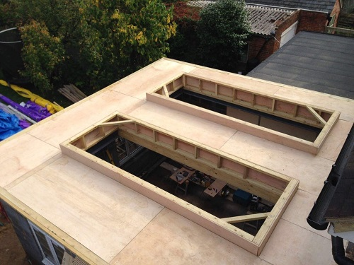 Fibreglass Roofing Structure Maidstone Kent