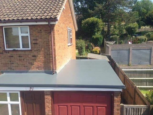 GRP Fibreglass Roofs Maidstone After