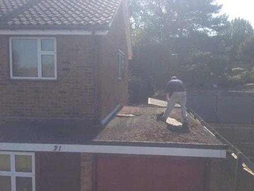 GRP Fibreglass Roofs Maidstone Before